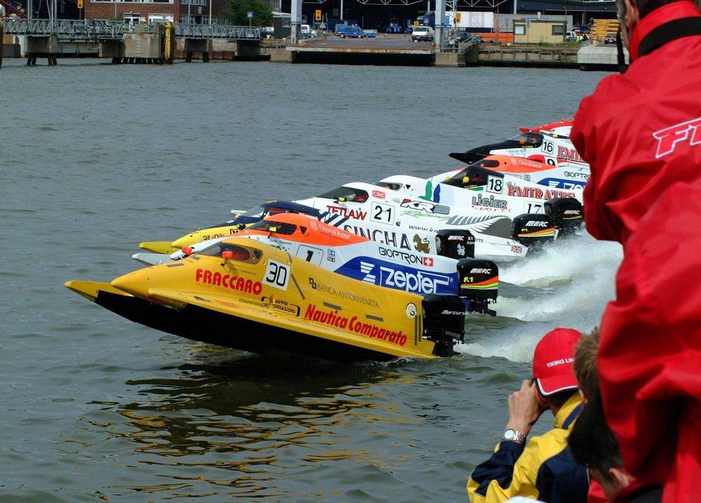 partenza gara Fabio Comparato
